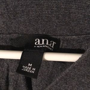 a.n.a Tops - M gray blouse.